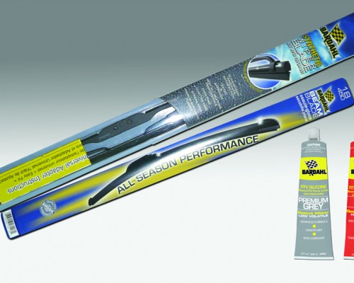 Wiper blades and Silicones Bardahl