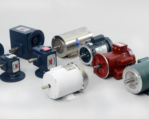 Electric Motors and Speed Gearmotors